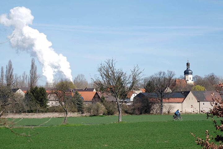 Das Dörfchen Pödelwitz südlich von Leipzig soll dem Erdboden gleich gemacht werden. Die meisten Einwohner sind schon weggezogen.