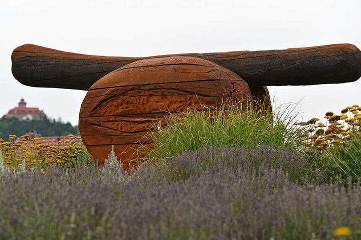 Auch die wahrscheinlich größte Bratwurst der Welt ist in Holzhausen zu sehen.