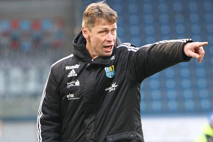 Sven Köhler gibt beim CFC die Richtung vor.