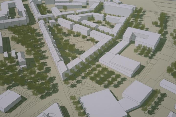 Und die Vorstellung des zweiten dritten Platzes vom Architekten-Büros Wiencke aus Dresden.