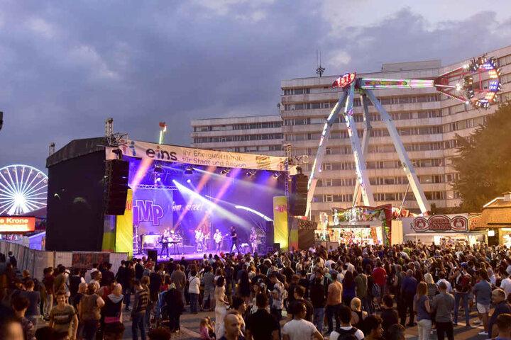 Stadtfest in der Chemnitzer Innenstadt