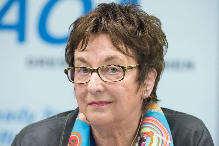 Bekam Post aus Sachsen: Bundeswirtschaftsministerin Brigitte Zypries (63, SPD).