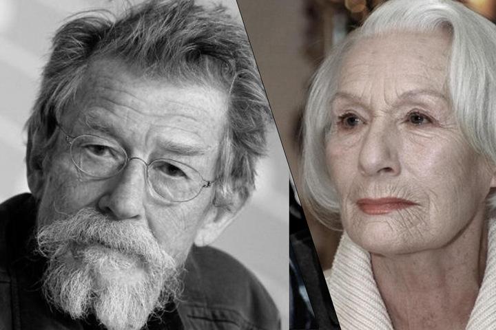 John Hurt und Inge Keller.