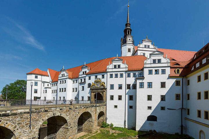 Schloss Hartenfels in Torgau beherbergt auch das Landratsamt von Nordsachsen.