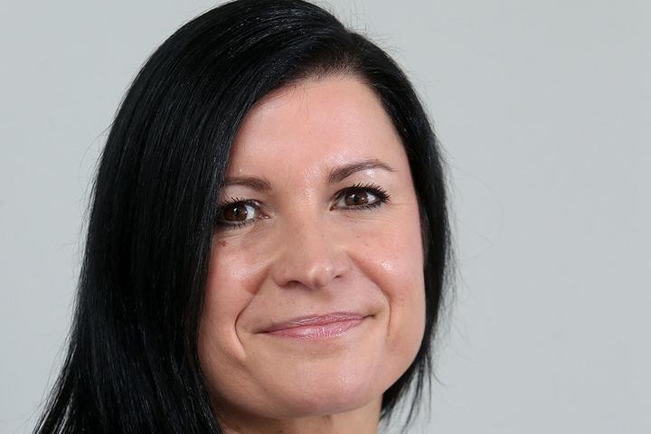 Amrei Haase (35) HypoVereinsbank-Immobilienspezialistin.