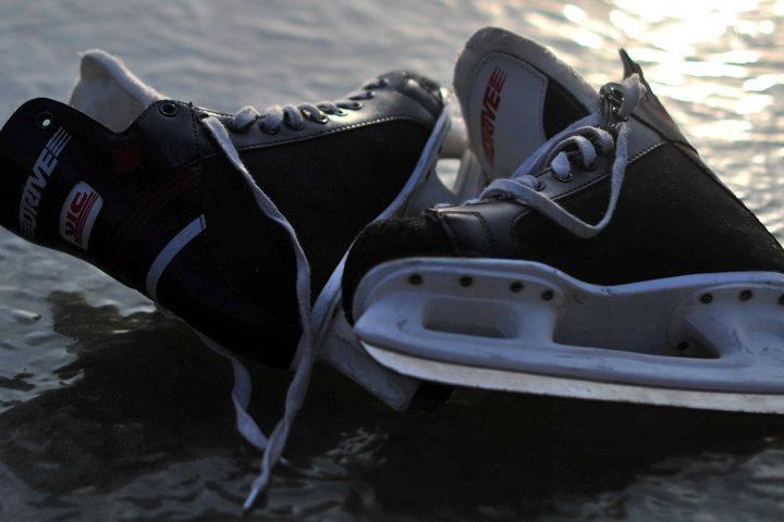 In Greiz ist Schlittschuhlaufen angesagt.