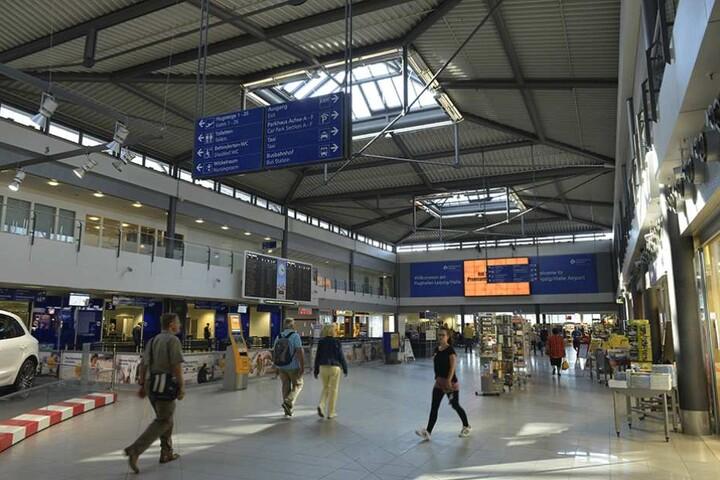 Am Flughafen Leipzig sind die Passagierzahlen deutlich zurückgegangen.