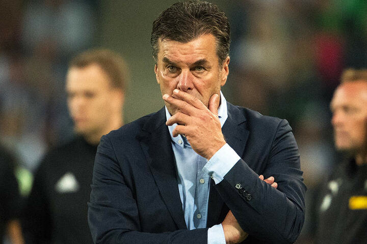 Gladbachs Coach Dieter Hecking hat die Medien für die Kritik an seinen Trainer-Kollegen kritisiert.