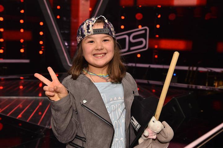 """Pia aus Bad Lippspringe hat gute Chancen, bei """"The Voice Kids"""" viel zu erreichen."""