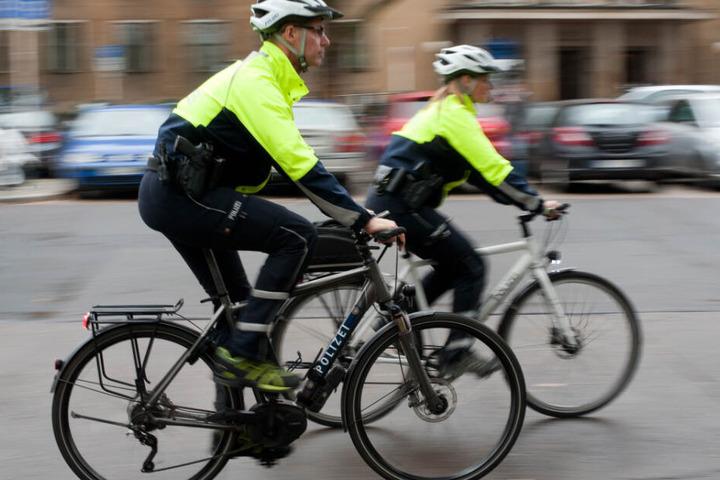 Auch die Polizei unterhält eine Fahrradstaffel.