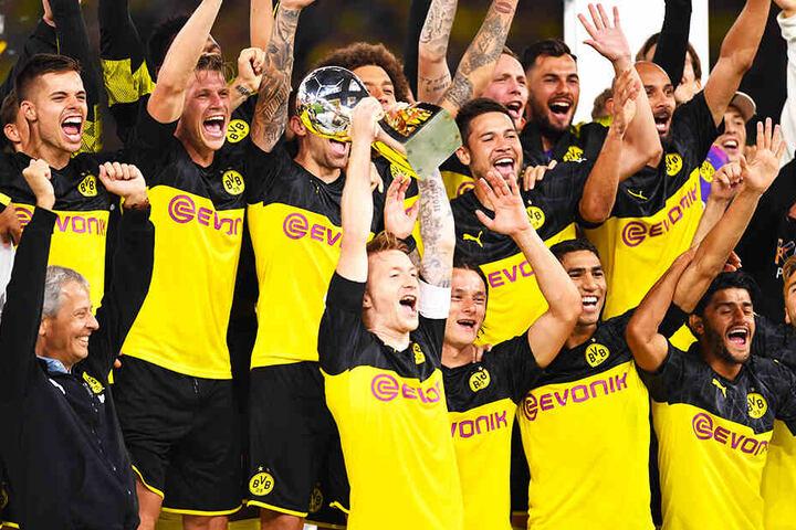 Den Supercup hat Borussia Dortmund gewonnen. Holt sich der BVB auch die Deutsche Meisterschaft?