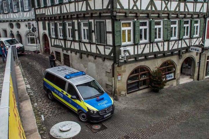 Die Polizei war im vollen Einsatz.