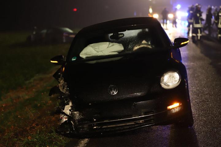 Auch das zweite Fahrzeug wurde schwer beschädigt.