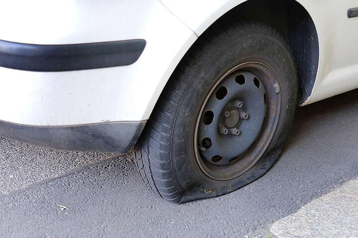 Bei der Attacke entstand laut Polizei ein Schaden von rund 1000 Euro. (Symbolbild)