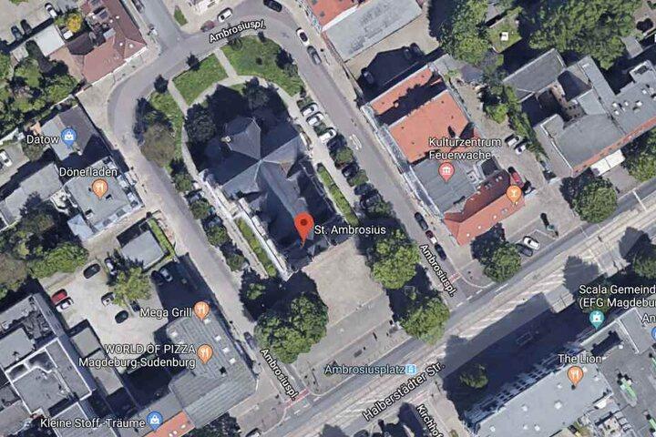 Der Vorfall ereignete sich am Ambrosiusplatz in Magdeburg.