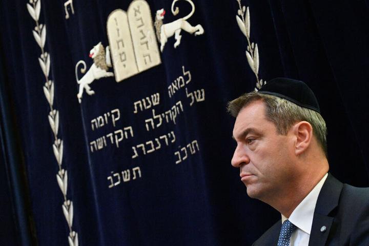 Bayerns Ministerpräsident Markus Söder will härter gegen Antisemitismus durchgreifen.