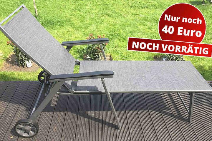 Funffach Verstellbare Rollliege Grau Inklusive Praktischem Kopfbogen Fur Nur 40 Euro Statt 69