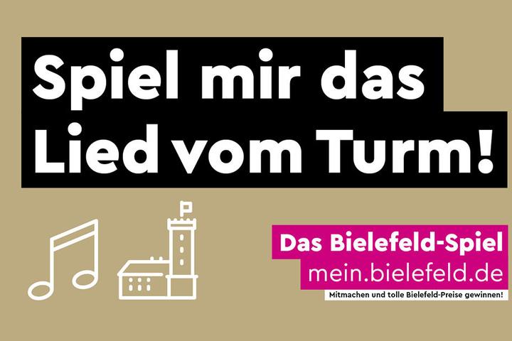 Gefragt sind Lieder für die Sparrenburg, das Bielefelder Wahrzeichen.