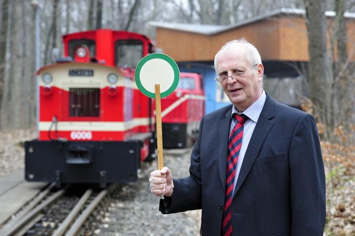 Parkeisenbahn-Chef Matthias Dietel hatte Anzeige gegen Frank S. erstattet.