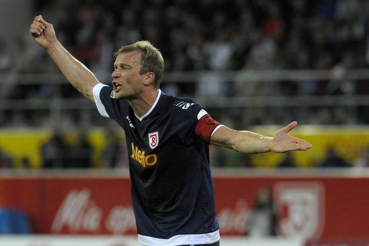 Thomas Paulus ging im Juni 2015 aus Aue weg, spielte noch zwei Jahre für Jahn Regensburg - und stieg zweimal in Folge auf.