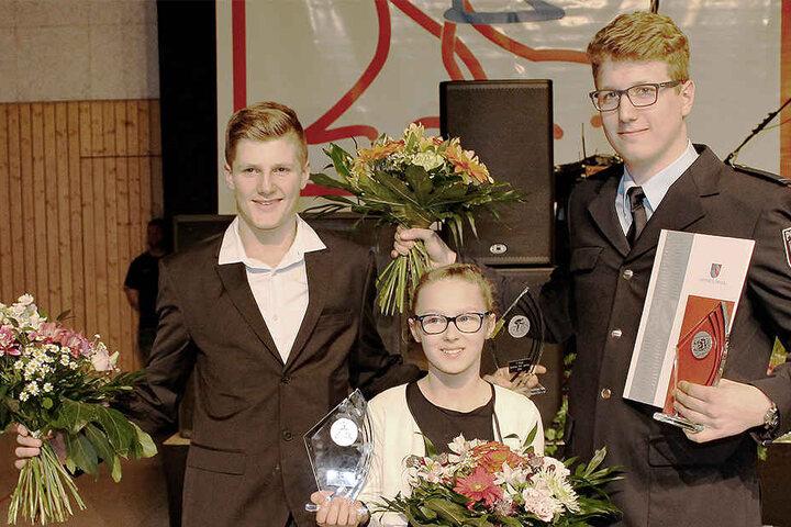 In der Sachsenlandhalle wurden die besten Sportler des Landkreises Zwickau ausgezeichnet.