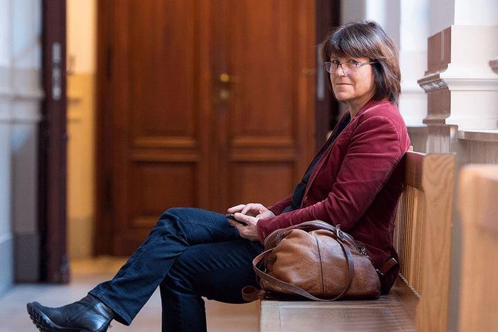 Kam umsonst: Zwickaus Oberbürgermeisterin Pia Findeiß (61, SPD) sollte gestern im Verleumdungsprozess vor dem Landgericht als Zeugin aussagen.