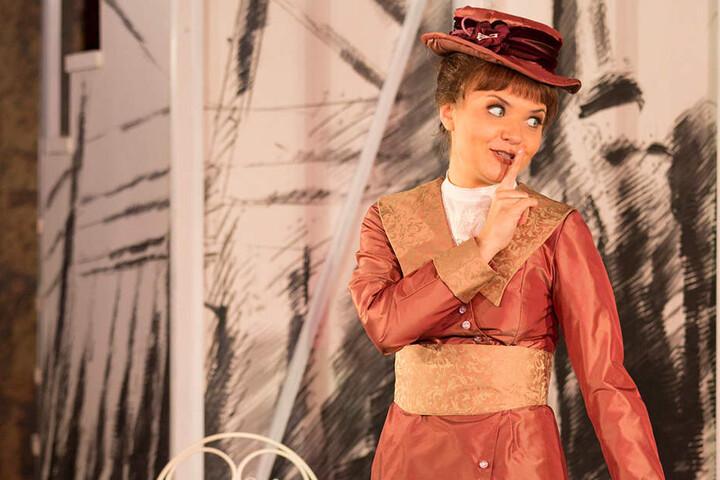 """Katharina Boschmann als """"Eliza"""". Sie spielte die Rolle bereits in Sondershausen."""