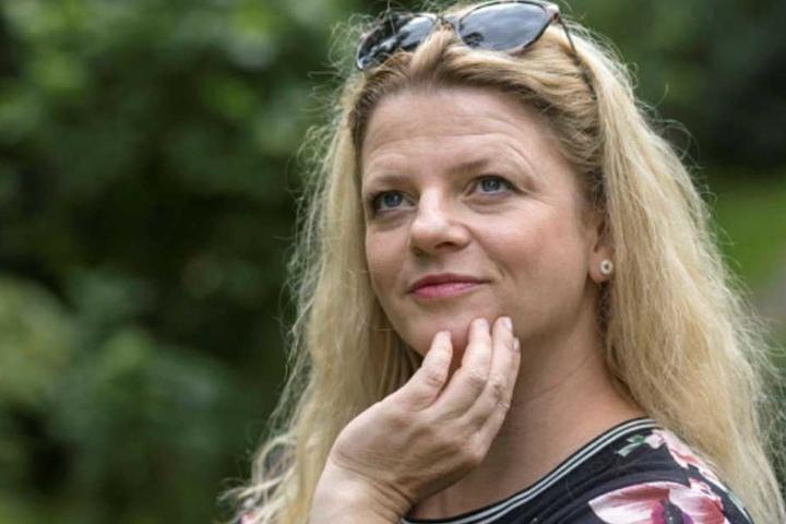 Susanne Schaper (40, Linke) würde zu gern in ein Strandbad der Chemnitz springen.