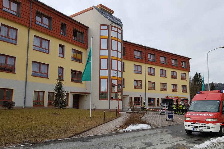 In dem Seniorenheim in Sebnitz wurde ABC-Alarm ausglöst.