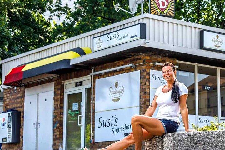 """""""Acki"""" war gestern. Jetzt wuppt Susi (39) die Dynamo-Fan-Kneipe."""