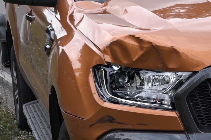 Der Ford-Pickups stieß mit dem Fahrrad zusammen und verletzte ihn dadurch tödlich.