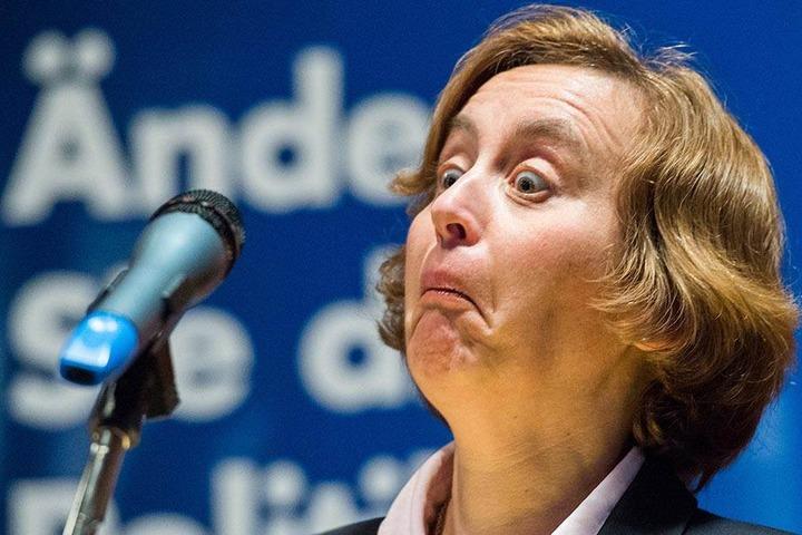 Für Beatrix von Storch ( 46) kommt ein Alkoholverbot auf öffentlichen Plätzen nicht in Frage.