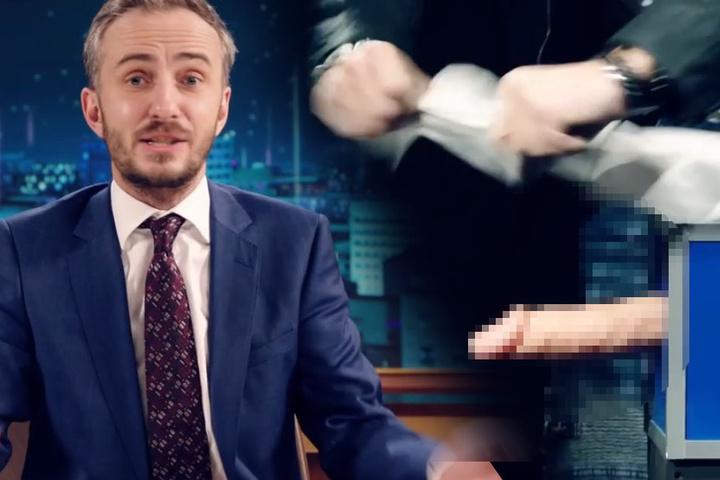 Der gefährliche Trick zersägter Penis.