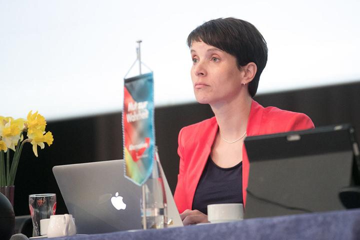 Frauke Petry wird am Montagabend zu einer Wahlkampfveranstaltung erwartet.
