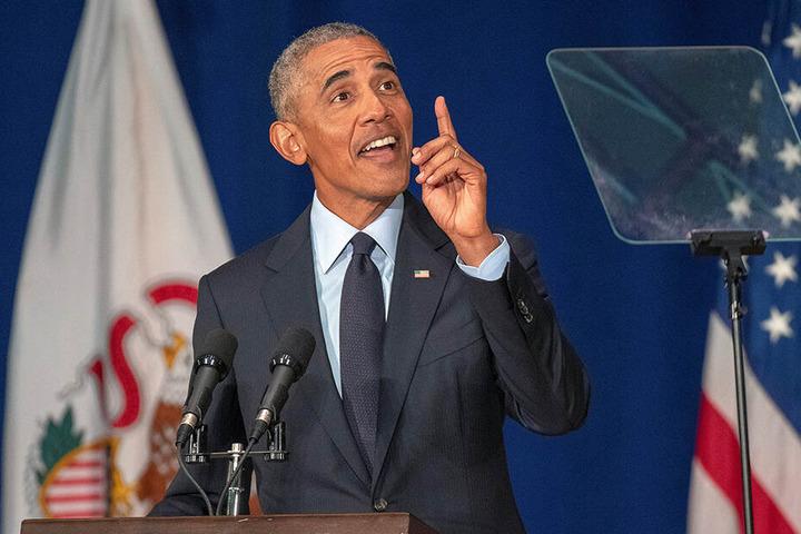 Trumps Vorgänger, Barack Obama, erhielt den Friedensnobelpreis 2009.