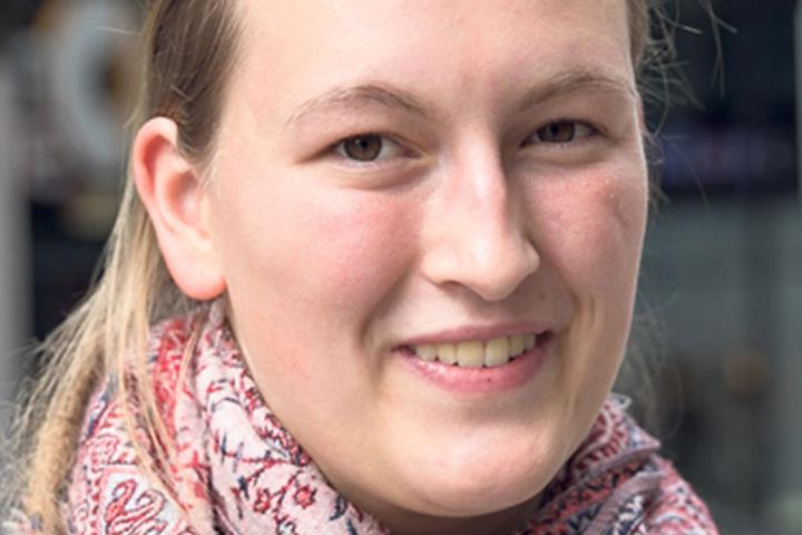 """Marlene Kossack (20), Studentin aus Dresden, nutzte einen Wahl-O-Mat: """"Der zeigte mir Die Partei und Die Piraten an. Die finde ich nicht wählbar. Ich schwanke noch zwischen den Linken und den Grünen bei meiner Entscheidung."""""""