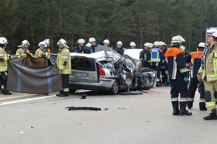 Auch für die Rettungskräfte war dieser Einsatz kein leichter.