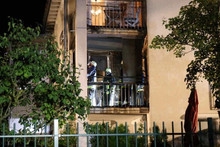 Die Feuerwehr konnte den Brand in Kulmbach schnell unter Kontrolle bringen.