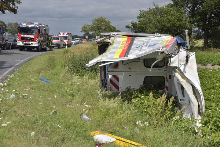 Der Unfall hatte sich auf der L234 ereignet.