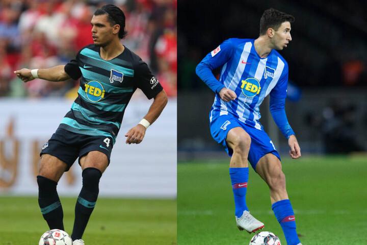 Karim Rekik (l.) und Marko Grujic (r.) werden im Spiel gegen den 1. FC Nürnberg definitiv nicht spielen.