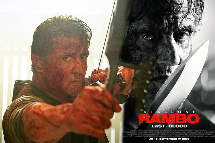"Sylvester Stallone sinnt als John Rambo in ""Last Blood"" auf Rache."