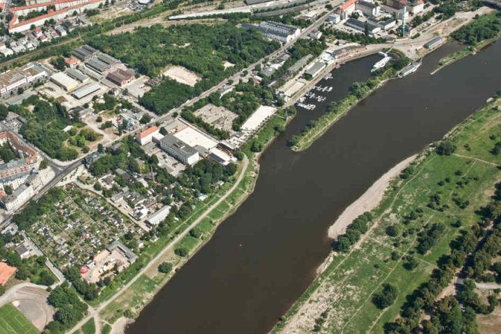 Zwischen Puschkin-Platz und Neustädter Hafen sollte Marina Garden verwirklicht werden.