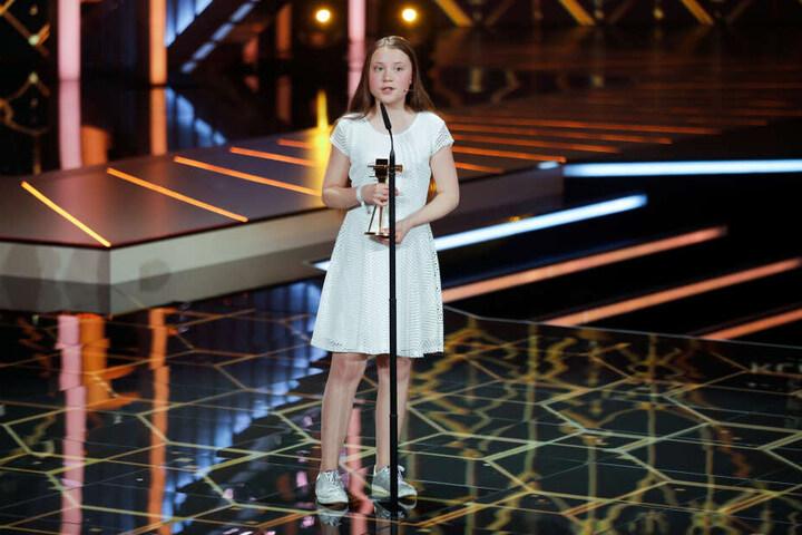 Am Samstagabend bekam Greta Thunberg (16) die Goldene Kamera verliehen.