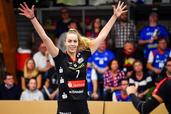 Tolles Comeback: Laura de Zwart wurde als wertvollste Spielerin ausgezeichnet.