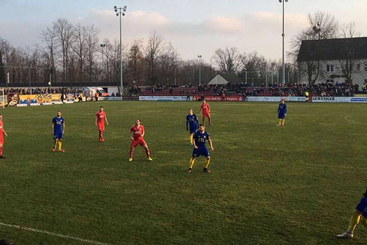 In der zweiten Halbzeit unterlag die Loksche dem ZFC: Am Ende stand's 2:0 für die Gastgeber.