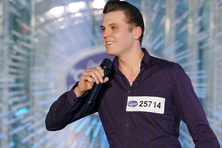 Mit Riccardo Richter (26) aus Dobra war noch ein zweiter Sachse beim Casting.