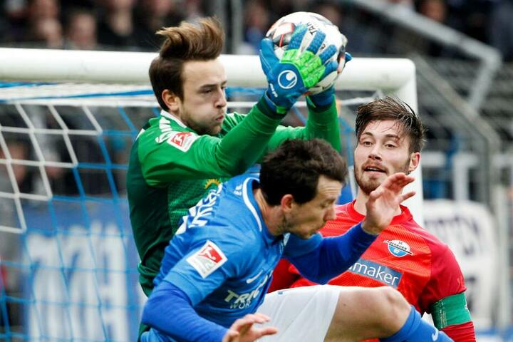 Torhüter Leopold Zingerle zeigte zuletzt im SCP-Dress gute Leistungen.