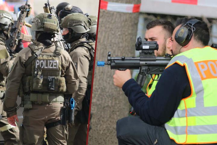 Die Polizei zieht nach der Anti-Terror-Übung in Steglitz ein positives Fazit.