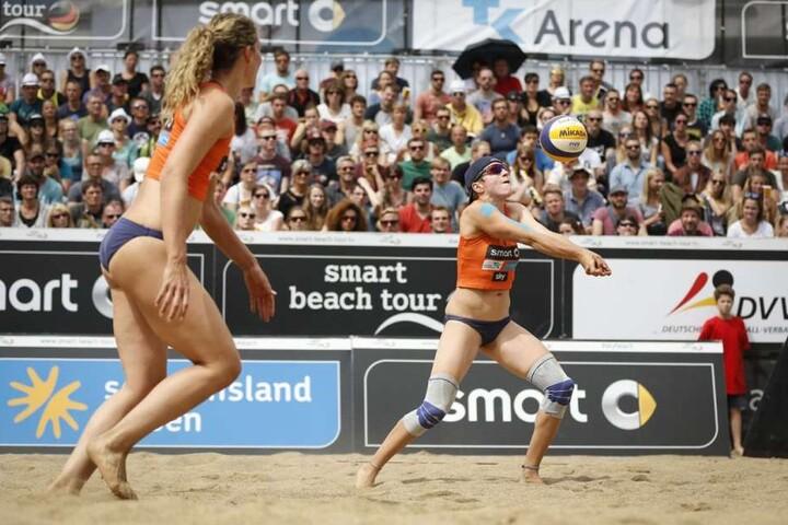 Bereits in den vergangenen Jahren sorgten die Teilnehmer beim Smart Beach Cup für tolle Stimmung und guten Sport.
