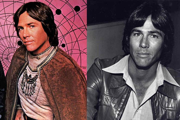 """Hatch wurde als Captain Apollo aus der TV-Serie """"Kampfstern Galactica"""" bekannt."""